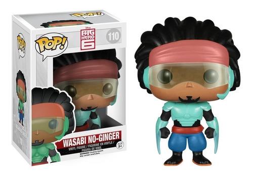 funko pop wasabi no-ginger big hero 6 grande heroes disney