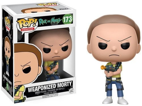 funko pop - weaponized morty #173 rick and morty - nextgames