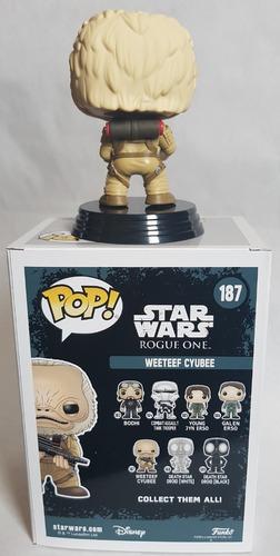 funko pop weeteef cyubee star wars rogue one