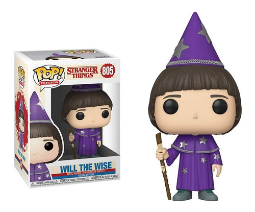 funko pop will the wise #805 stranger things 3 regalosleon