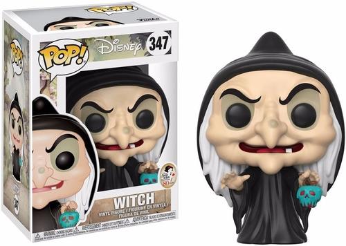 funko pop witch #347 disney bruja mala de blancanieves