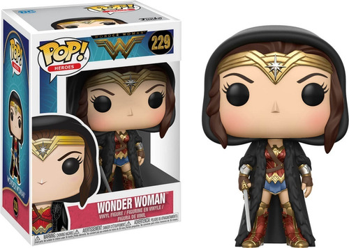 funko pop! wonder woman justice league mulher maravilha