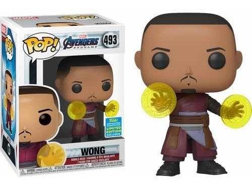 Funko Pop Wong - Avengers: End Game - Sdcc 2019 #493 Marvel