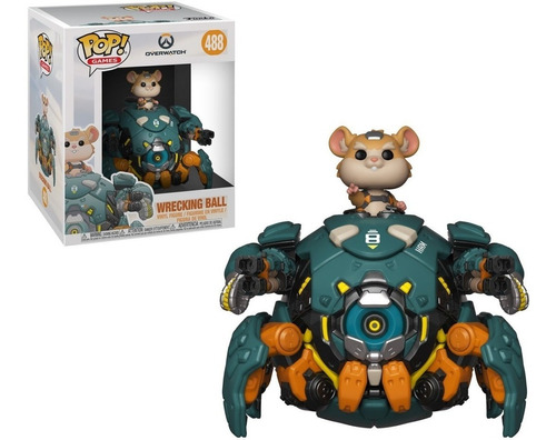 funko pop! wrecking ball 488 6  - overwatch nycc exclusive