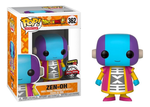 funko pop zen oh saharis exclusive #362 nuevo y original