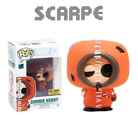 Zombie Kenny South Park Pop de Bolsillo Llavero Oficial Funko Pop Vinilo KEYRING