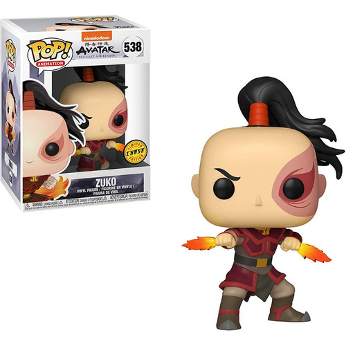 funko pop zuko chase edition avatar