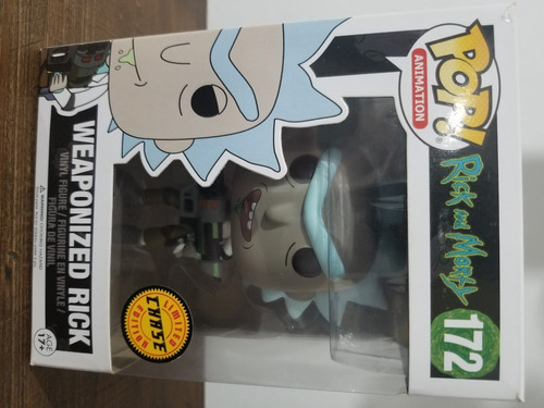 funko pop.weaponized rick limited edition chase.