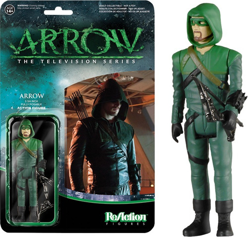 funko reaction arrow tv series arrow variant - mascara