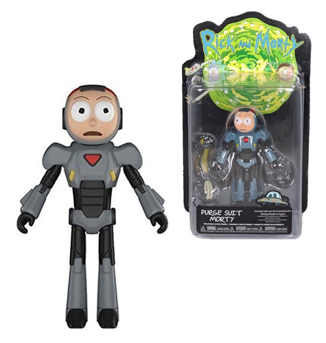 funko rick and morty morty purge suit action figure