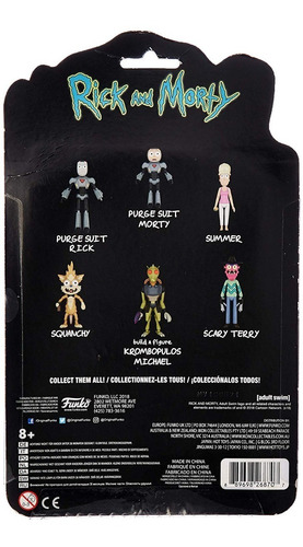 funko rick and morty purge suit morty serie 2 original!!!!