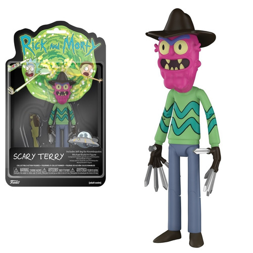 funko rick and morty scary terry serie 2 original!!!!