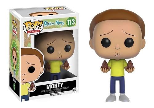 funko rick & morty morty #113