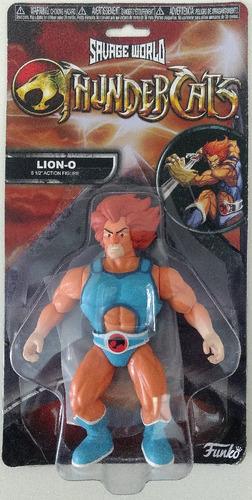 funko savage world action figure thundercats lion-o