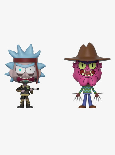 funko vinyl seal team rick + scary terry original!!!!