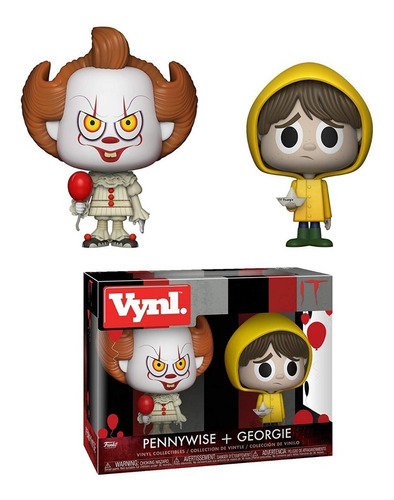 funko vynl pennywise & georgie it