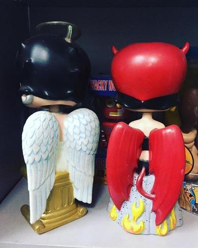 funko wacky wobbler betty boop angel and devil en stock