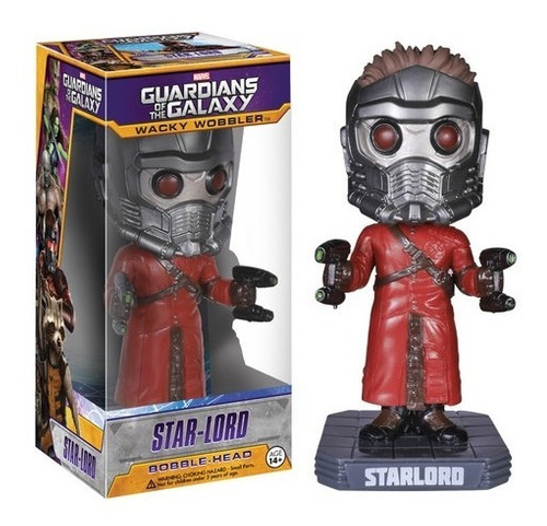 funko wacky wobbler star lord guardianes galaxia #funkonauta