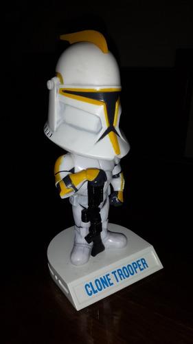 funko wacky wobbler - star wars - clone trooper - raro!