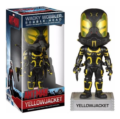 funko wacky wobbler yellow jacket bobble head ant-man