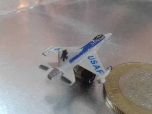 funrise - avion caza tipo micro machines de 1989