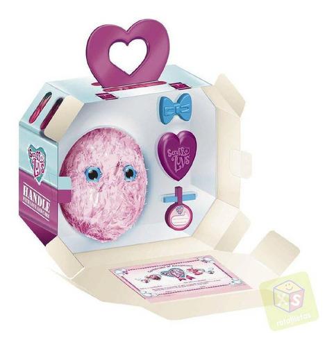fur balls pets adotados surpresa rosa - fun