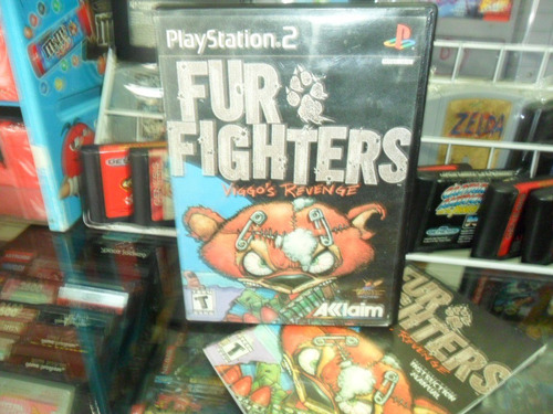 fur fighters play station 2 ps2