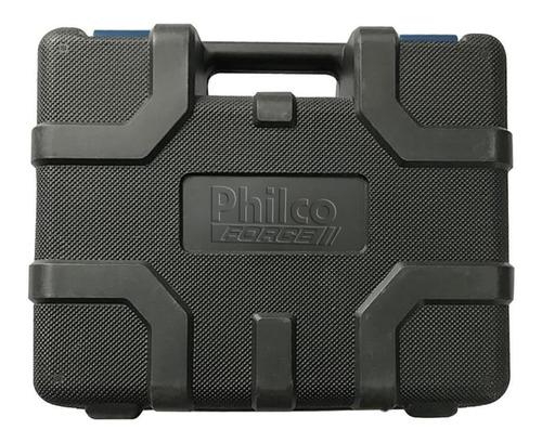 furadeira de impacto 650w com maleta philco 110/127v pfu01mf