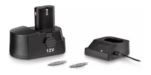 furadeira e parafusadeira a bateria bivolt portatil 12v