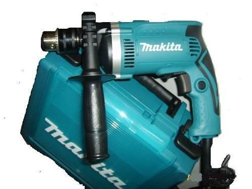furadeira impacto 1/2 makita hp1630k com maleta 110v ou 220v