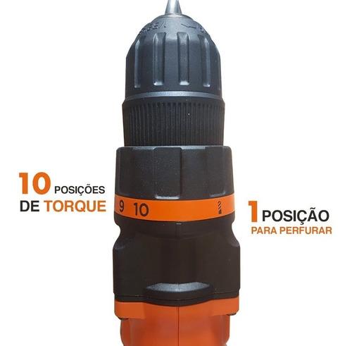 furadeira parafusadeira 20v kit ld120 bh black decker