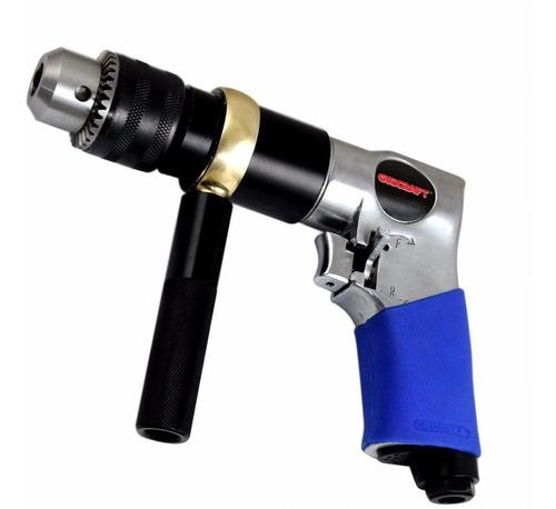 furadeira pneumática reversível 1/2  com punho auxiliar