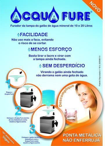 furador de galão água mineral 10 ou 20 litros manual