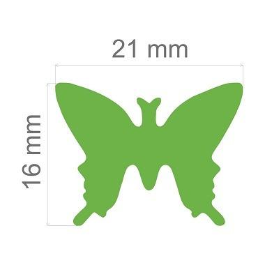 furador jumbo alavanca eva e papel borboleta - toke e crie