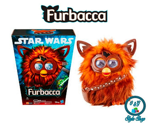 furby furbacca - star wars - original