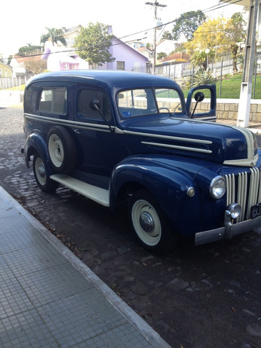 furgão ford f1  panel delivery 1946