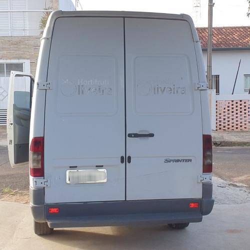 furgão mercedes benz sprinter 313 cdi longo, teto alto