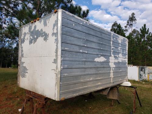 furgon aluminio excelente estado amplio