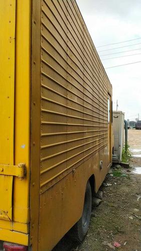 furgón apto para carga ó foodtruck.
