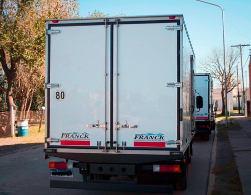 furgon caja termico metalurgica franck - anticipo