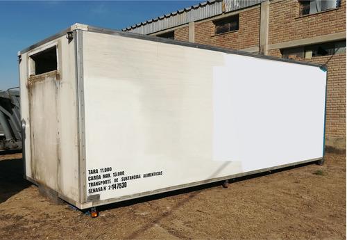 furgon carnicero 7 mts