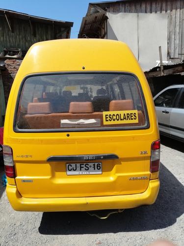 furgon escolar yin b hiasse 2.2 motor toyota