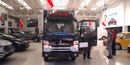 furgon jac carga seca  lista para trabajar financiacion 100%