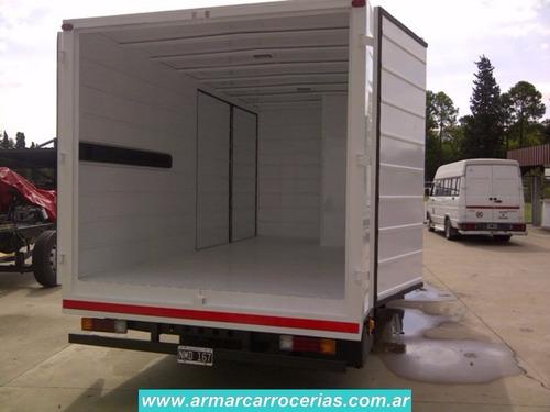 furgon paquetero 5 mts directo de fabrica armar