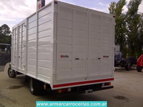 furgon paquetero 5 mts directo de fabrica pamparem