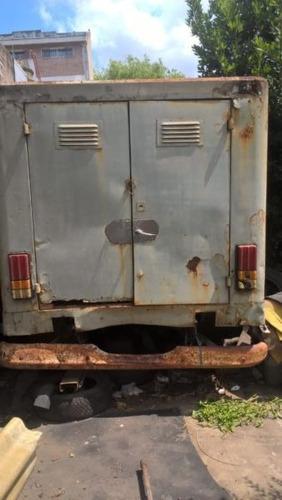 furgon para pick up + diferencial 8 agujeros