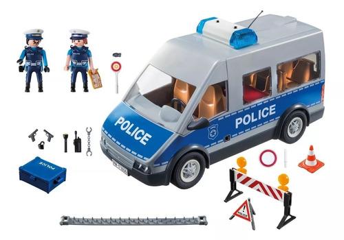 furgon policial  playmobil 9236 vavi toys
