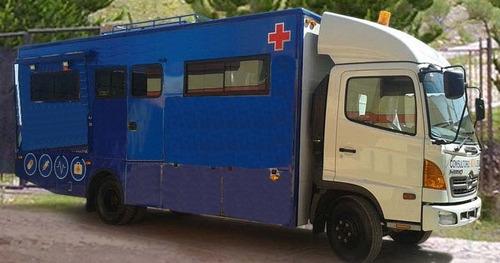 furgon sanitario chasis mercedes