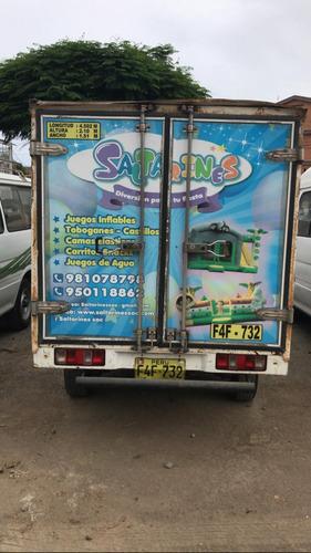 furgon shineray 2 ejes 4 cilindros gasolina año2013