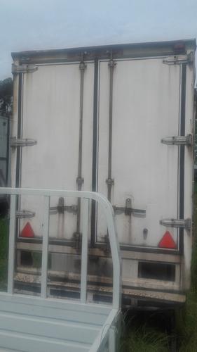 furgon termico acero inoxidable poco uso.